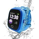 SoyMomo H20 Telefono pequeño y seguro para niños con GPS. (Azul)