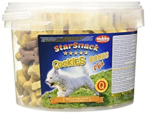 "Nobby 69921 StarSnack Cookies ""Bones Mix"" Eimer 1,3 kg"