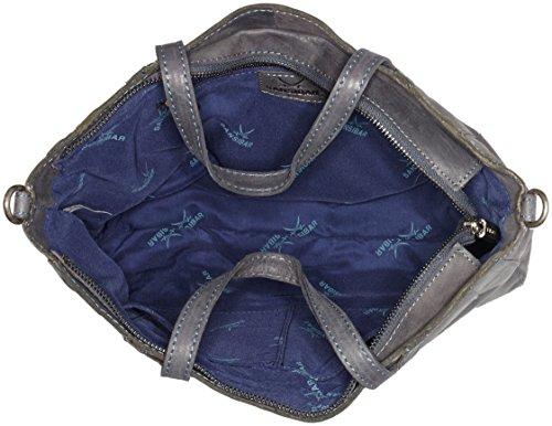 Sansibar - Sansibar, Borsa a mano Donna Blau (Blau (Jeans))