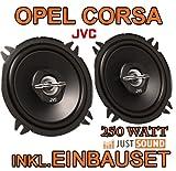 OPEL CORSA B & C HINTEN - LAUTSPRECHER - JVC CS-J520 - 13CM KOAXE