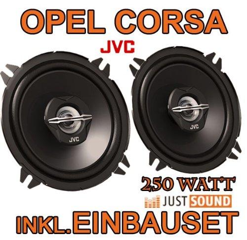 OPEL Corsa B & C HINTEN - Lautsprecher - JVC CS-J520-13CM KOAXE