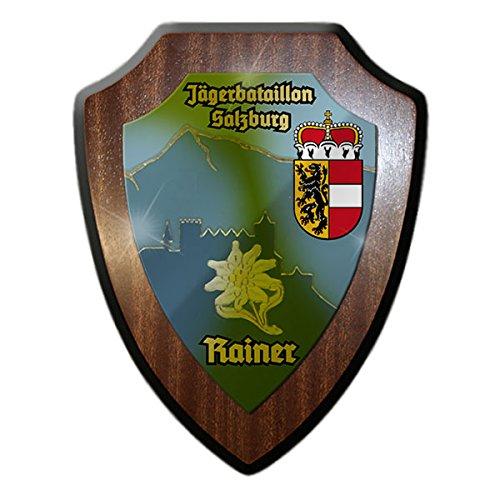 Wappenschild / Wandschild - Jägerbataillon Salzburg Erzherzog Rainer Rainerkaserne Österreich Bundesheer Wappen Abzeichen Emblem #13313