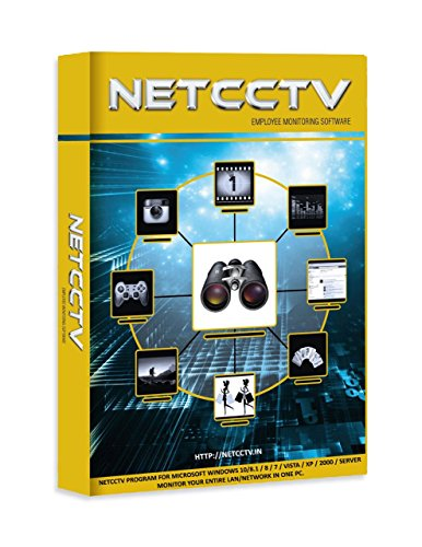 NetCCTV Software - Employee Monitoring & Spy Utility - 2 user - 1 Year