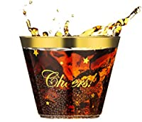 Les gobelets parfaits pour votre occasion spéciale.    Ce lot de 100 gobelets en plastique doré est parfait pour vos occasions spéciales : anniversaire, anniversaire, mariage, fête prénatale, brunchs, fête de vacances, fête d'entreprise ou de bure...