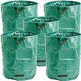 Masgard® Sac de Jardinage avec Sac à Feuilles Différentes Tailles 500 Liter