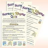 Baby Shower Game - Nursery Rhyme Quiz