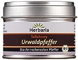 Herbaria Tellicherry Urwaldpfeffer, 1er Pack (1 x 30 g Dose) - Bio