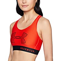 Under Armour Mid Graphic Soutien-Gorge Femme