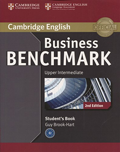 Business Benchmark 2nd Upper Intermediate Business Vantage Student's Book (Cambridge English)