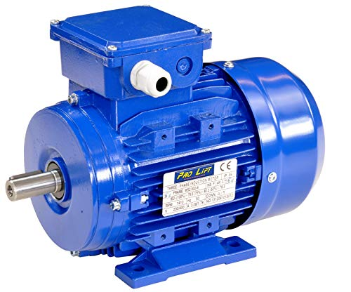 Pro-Lift-Werkzeuge 3-Phasen Drehstrommotor 0,75 kW 380 V Elektromotor 1410 U/min Industriemotor electric motor B3 Drehstrom 750W 230V/400V -