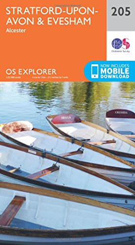 os-explorer-map-205-stratford-upon-avon-and-evesham