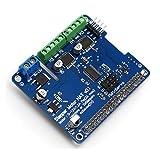 DollaTek Raspberry Pi 3 Schrittmotor HAT Voll funktionsfähige Roboter Erweiterungskarte für Raspberry Pi 3, Pi 2, B +, Zero
