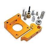 S SIENOC Kit de soporte de montaje de bloque de soporte de marco de aluminio compatible para extrusora de impresora 3D MK8