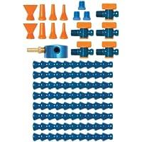 "Loc-line refrigerante manguera Base magnética colector Super Kit, 25piezas, 1/4""manguera ID"