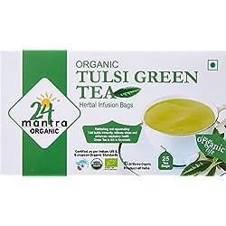24 Mantra Organic Tulsi Green Tea , 25 tea bags