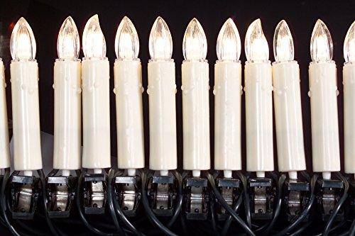 Brauns Heitmann 84712 - Decoración led con velas (90 cm, 10 unidades, luz blanca cálida)