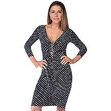 8fcda0fc4 KRISP Vestido Moda Mujer Fruncido