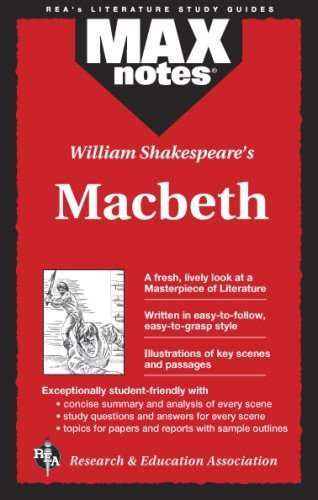 Macbeth (MAXNotes Literature Guides) by Sheinberg, Rebecca McKinlay, English Literature Study Guides (1994) Paperback
