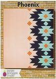 Lila Ananas Studio pps-1508Phoenix Muster steppdecke,