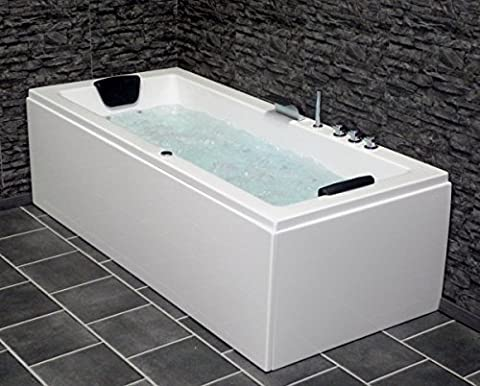 Whirlpool Badewanne Venedig MADE IN GERMANY rechts oder links 150