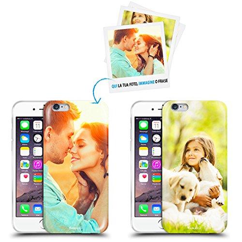 Anukku Custodia Cover Air Gel Ultra Sottile Personalizzata con la Tua Foto, Immagine o Scritta per Apple iPhone 8 Stampa di qualità Fotografica con Mimaki