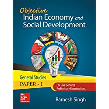 Objective Indian Economy and Social Development for Civil Services/State Civil Services Preliminary Examination (General Studies: Paper - I)