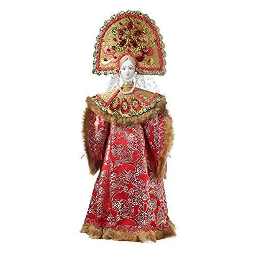 danila-souvenirs Russische Handgemachte Porzellan Traditionelle Volkskostüm Puppe 33 -