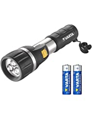 Varta 3x 5mm LED Day Light Taschenlampen Flashlight Leuchte Lampe Arbeitsleuchte Taschenleuchte Taschenlicht für Haushalt, Camping, Angeln, Garage, Notfall, Stromausfall, Outdoor