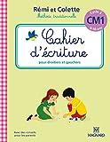 Cahier d'écriture Rémi et Colette CM1