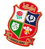 British & Irish Lions Rugby Shield Pin Badge [red]