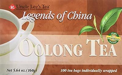 Uncle Lee's Tea - Légendes de la Chine Thé Oolong - 100 Sachets de Thé