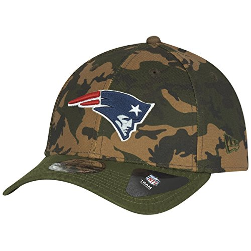 New Era Herren Caps / Flexfitted Cap Camo Team Stretch New England Patriots 39Thirty camouflage L/XL (Flex Camo Hut Fit)