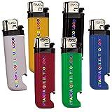 Accendini apribottiglia colorati economici personalizzati personalizzabili con nome, frase o slogan