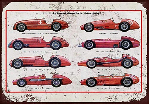 Sary buri Ferrari Through The Ages Vintage Metal Cartel