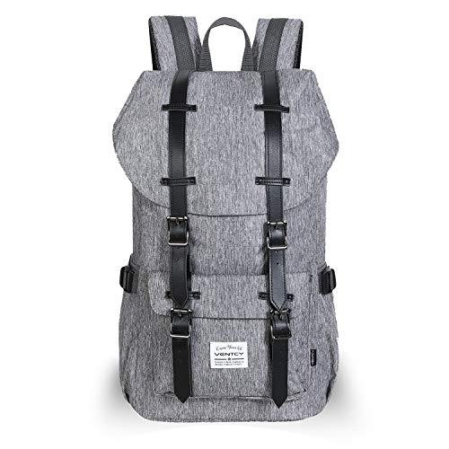 VENTCY Studenten Rucksack Damen Uni Rucksack Herren Backpack 15,6 Zoll Laptop Rucksack Jungen Daypack Wasserabweisend Unisex für Freizeit Outdoor Reise 23L