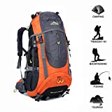 INFIKNIGHT INF 70L Tactical Backpack Waterproof Travel Hiking Backpack Outdoor Camping Rucksack Trekking Climbing Sports Bag Equipment For Men