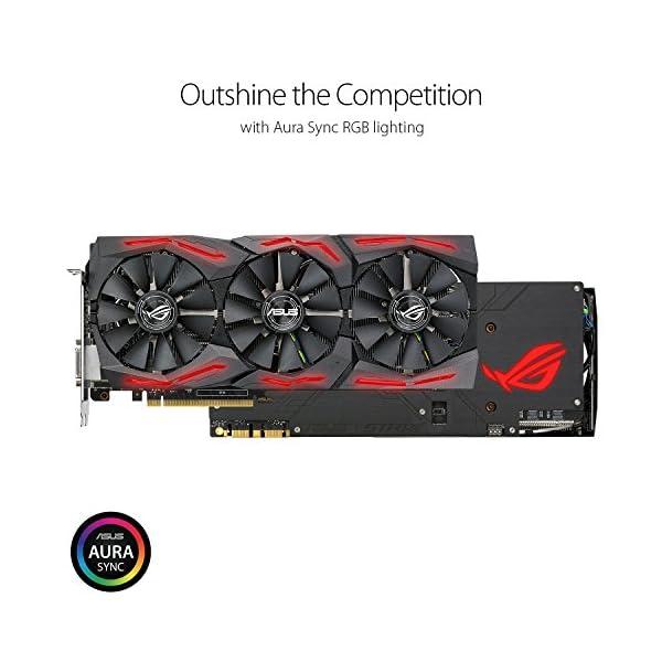 Asus-ROG-Strix-GeForce-GTX1080Ti-11GB-Gaming-Grafikkarte-Nvidia-PCIe-30-11GB-GDDR5X-Speicher-HDMI-DVI-DisplayPort