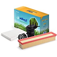 Millard Filters - Kit de filtros para Kubistar o Clio 2, Kangoo y Symbol