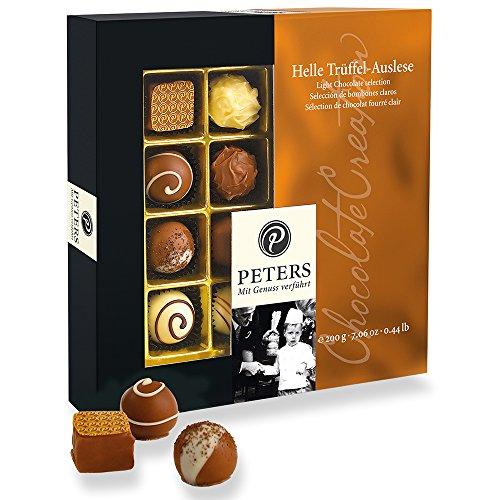 Peters - Helle Trüffel-Auslese - Pralinen mit heller Schokolade - 200g