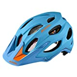 Alpina Carapax Cycle Helmet Wheel Multi-Coloured Blue/Orange Size:57-62 cm by Alpina