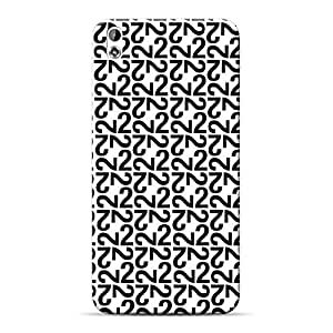Mobile Back Cover For HTC Desire 816 (Printed Designer Case)