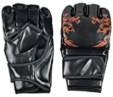 #7: IRIS Boxing Gloves MMA UFC Sparring Grappling Fight Punch Mitts PU Leather Training Gloves