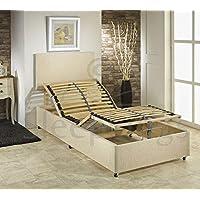 sleepkings 3ft Single eléctrico Ajustable Cama con colchón de Espuma de Memoria y cabecero de Cama Camas - Muebles de Dormitorio precios