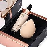 IGEMY Gesicht Augen Foundation Set, Concealer + Hauch Highlight Contour Liquid Stick Make-up Creme (B)