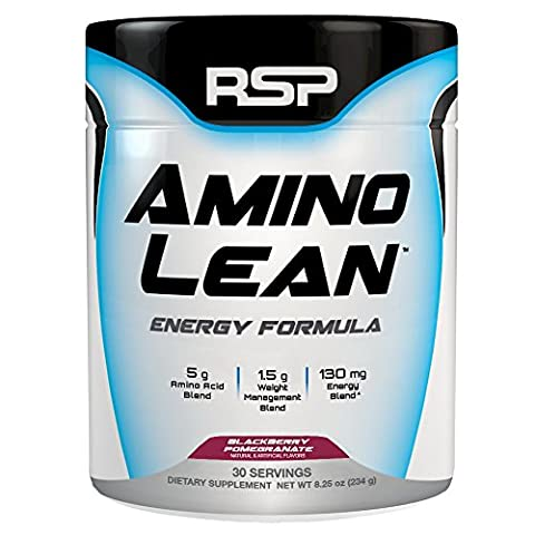 RSP Nutrition Amino Lean Energy Formula 30 Servings (Blackberry Pomegranate) by RSP Nutrition