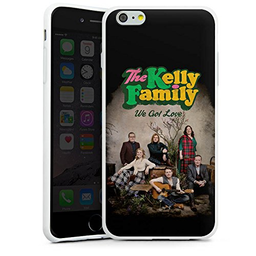 Apple iPhone 6 Plus Silikon Hülle Case Schutzhülle The Kelly Family We got Love Merchandise Silikon Case weiß
