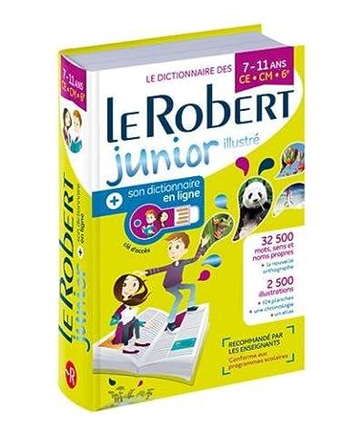 Dictionnaire Le Robert Junior Illustré & son dictionnaire en ligne