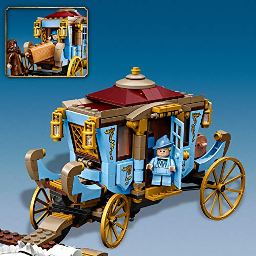 LEGO-75958-Harry-Potter-Beauxbatons-Carriage-Arrival-at-Hogwarts-Set-with-2-Horse-Figures-Multicolour