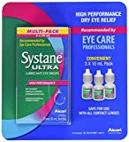 Alcon Systane Ultra 3 X 10Ml (0.33 Fl Oz) Bottles