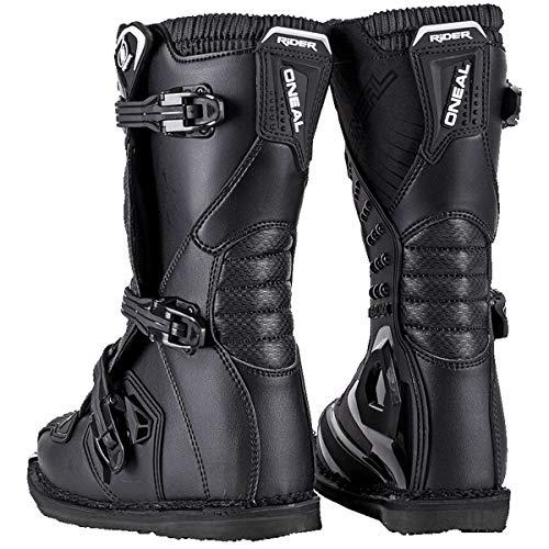 O'Neal Kids Rider Boot Schwarz Kinder MX Stiefel Moto Cross Enduro, 0324KR-1, Größe 37 - 4